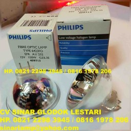 Lampu Halogen Philips 15V 150w Fibre Optic Lamp 6423FO