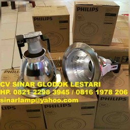 Downlight Philips 66664 Recessed Nickel Chrome 1x18W