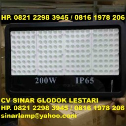Lampu Sorot LED 200 watt SMD 3030