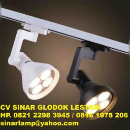 Lampu Sorot Spotlight 28 watt Track Light