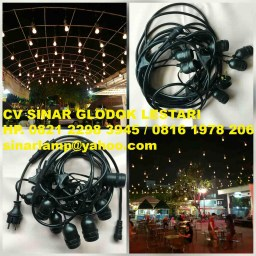 Fitting Lampu Outdoor