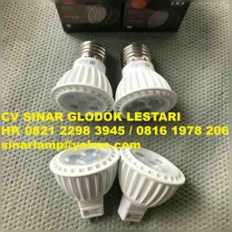 Lampu LED 3W dan 5W MR16 dan E27