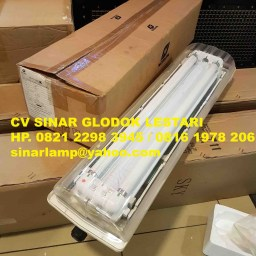 Lampu Anti Ledak Explosion Proof 2x18 watt BAY51-Q Warom
