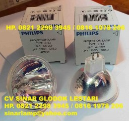 Lampu Halogen Philips 24V 250W 13163