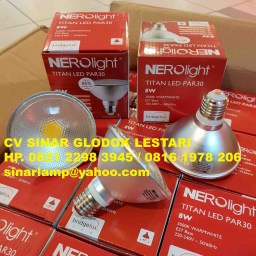 Lampu LED Nerolight Titan LED PAR30 8W 3000K