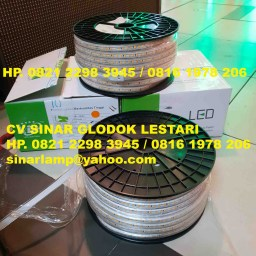 Lampu LED Strip 5730 Golden Lamp Color 220v 50m