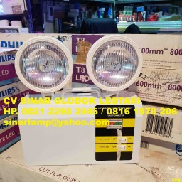 Lampu Emergency Mata Kucing LED 2x3 watt
