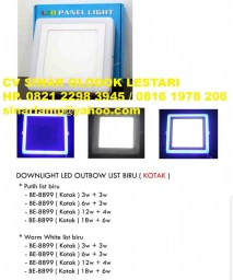 LED Downlight 2 Colour Outbow Kotak