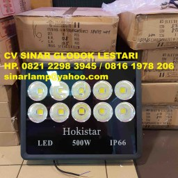 Lampu Sorot LED Floodlights 500 watt Hokistar