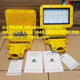 Lampu Explosion Proof Warom BAT86-90-60S Warom LED Floodlights atau LED Street Light