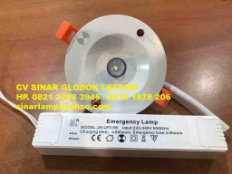 Lampu Emergency LED UFO 3 watt JN-UFO 3W