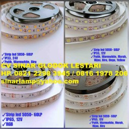 Lampu LED Strip 24 Volt dan 12 Volt