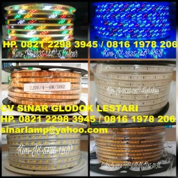 Lampu LED Strip Hias Dekorasi 220V