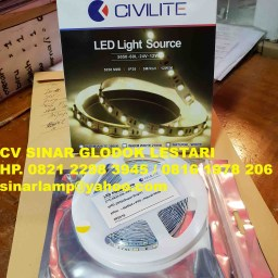 Lampu LED Flexible Strip 24 Volt 8W Permeter Civilite
