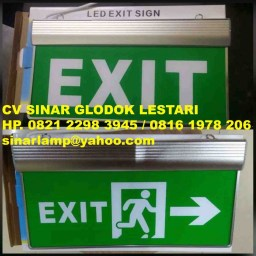 Lampu Emergency LED Exit