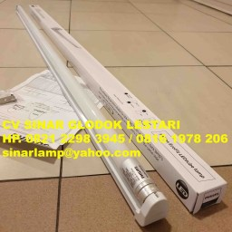 Lampu TL LED Philips Ecofit 16 watt + Kap LED Batten Fitting