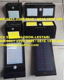 Lampu Dinding Outdoor Solar Cell Sensor Wall Light