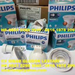 Lampu Philips Essential LED Spot 4.5 watt