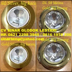Downlight Halogen Kacang atau LED Meiwa