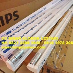 Lampu dan Kap TL LED Philips 16 Watt BN015C Set