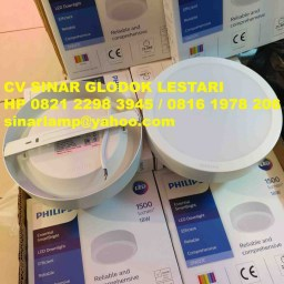 Downlight Outbow Philips 18 watt DN027C