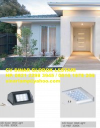 Lampu Dinding Tenaga Surya LED Solar Wall Light