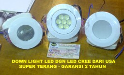 DOWN LIGHT LED CREE USA OK
