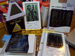 Digital Display Clock, Temperatur, Humidity Meter