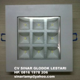 Downlight LED Kotak SMD 9W
