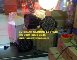 Lampu Panggung Par Led 54 x 3W Stage Lighting