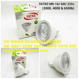 Lampu LED Fatro MR16 6watt 220V
