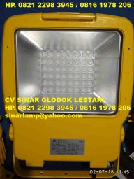 Lampu Explosion Proof LED Floodlight Warom HRN-T95