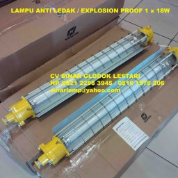 Lampu Explosion Proof TL 1 x 18 Watt