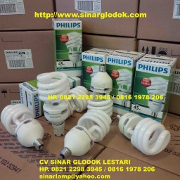 Lampu EHL TWISTER 45W 865 E27 220-240V PHILIPS