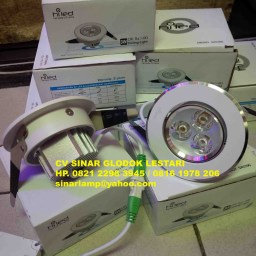Lampu Downlight Ceiling 3W HiLed