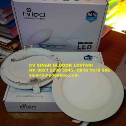 Lampu Downlight Led Panel 12W Hiled