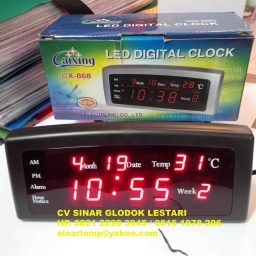 Jam Digital Merah CX 868