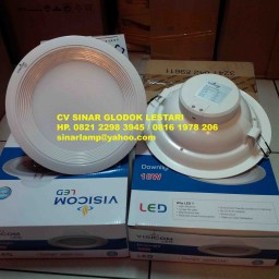 Downlight Led Visicom 18W