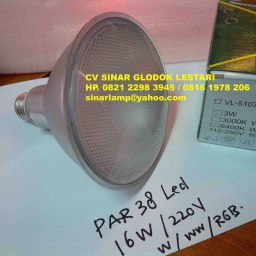 Lampu Led Par38 16W Outdoor