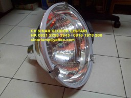 Kap Lampu HDK Reflector Mirror Tutup Kaca Safety Glass