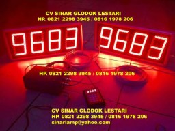 Lampu Digital Display Nomor Lagu