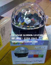 Lampu Disco Led Crystal Magic Ball