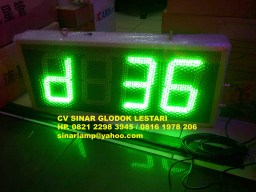 Lampu Display Digital Board Count Up Penghitung Hari