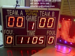 Lampu Display scoring board FUTSAL