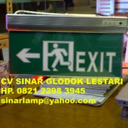 Lampu Emergency Exit A2021
