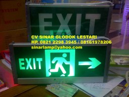 Lampu Emergency Exit LED 5W Premium