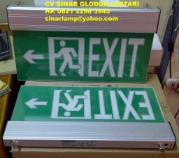 Lampu Emergency Exit LED Power Save