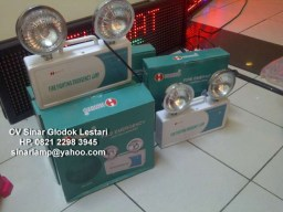 Lampu Emergency LED Mata Kucing