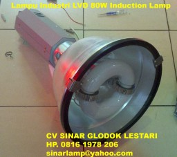 Lampu Industri HDK LVD 80W Tutup Kaca Safety Glass