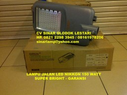 Lampu Jalan LED Nikkon 150 Watt LEDXION